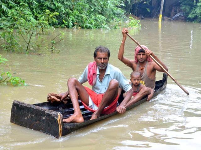 Floods in Manipur,West Bengal,Odisha