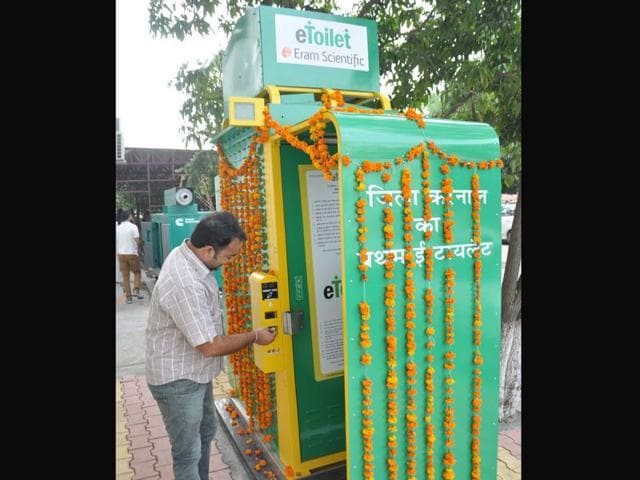 E-toilet-at-Karnal-mini-secretariat-that-was-inaugurated-on-Monday-CL-Kashyap-HT-Photo
