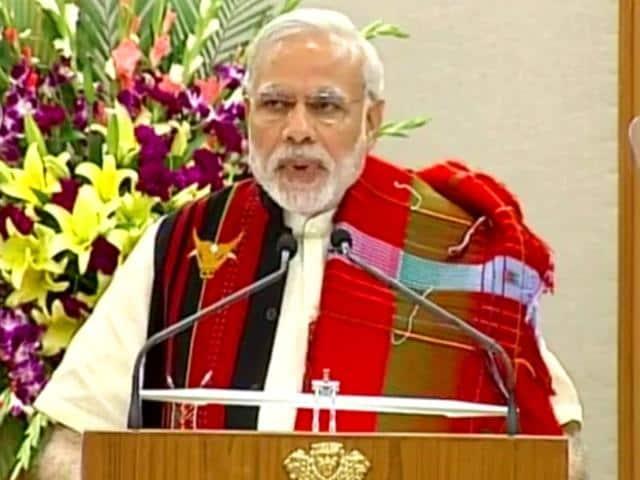 Narendra-Modi-talking-at-the-Naga-peace-accord-at-7-RCR-on-Monday-HT-photo-via-YouTube