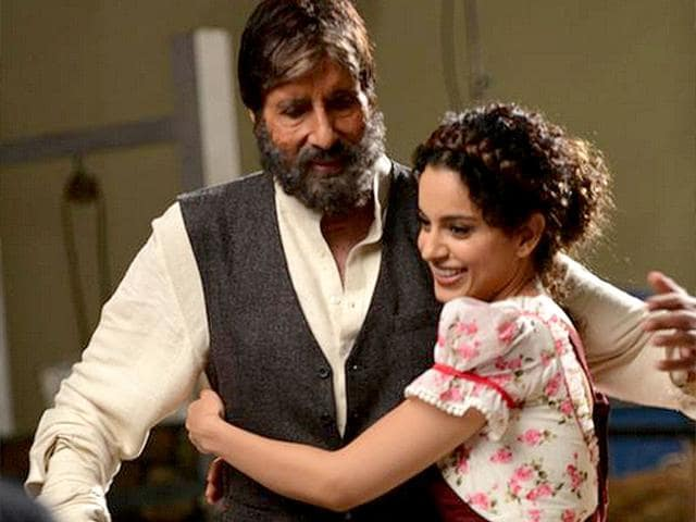 Kangana-is-working-with-Amitabh-Bachchan-in-a-TV-commercial-Photo-Twitter-Amitabh-Bachchan