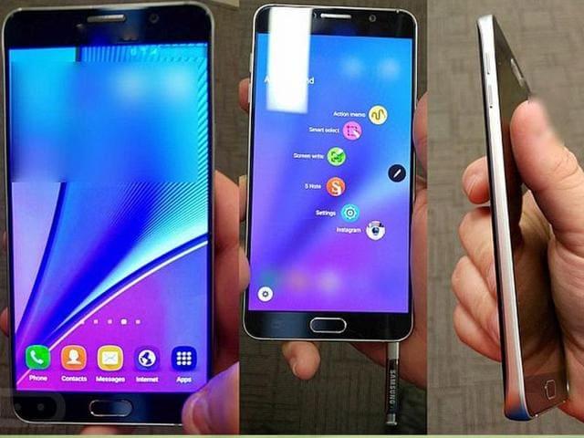 Samsung,Unpacked 2015,Galaxy Note 5