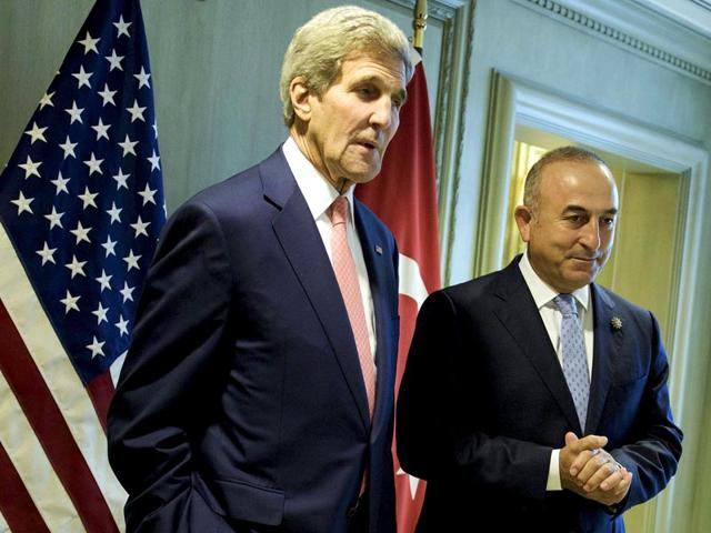 U-S-Secretary-of-State-John-Kerry-L-and-Turkey-s-Foreign-Minister-Mevlut-Cavusoglu-wait-for-a-meeting-in-Kuala-Lumpur-August-5-2015-Reuters-Photo