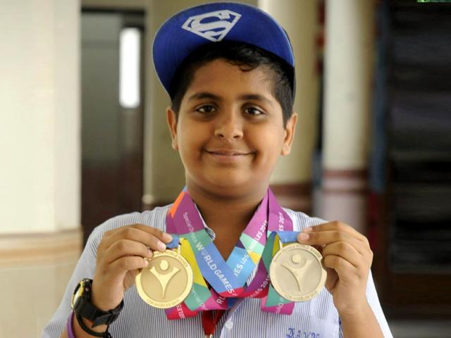 Ishant-Tudeja-a-13-year-old-boy-with-intellectual-disabilities-bagged-a-gold-and-silver-medal-in-roller-skating-at-the-Special-Olympics-World-Games-Parveen-Kumar-HT-Photo