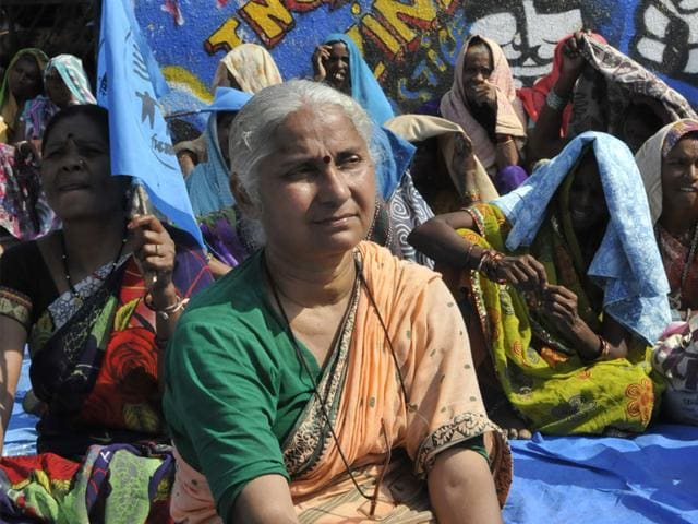 Narmada-Bachao-Andolan-leader-Medha-Patkar-will-lead-the-march-and-the-indefinite-sit-in-at-Rajghat-in-Barwani-HT-file-photo