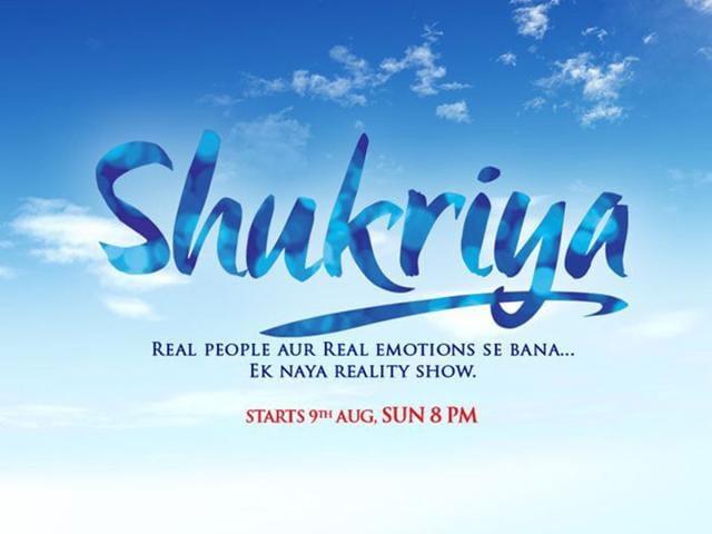 Zindagi,Shukriya,New Show