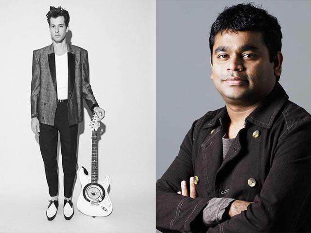 Bacardi NH7 Weekender,AR Rahman,Mark Ronson