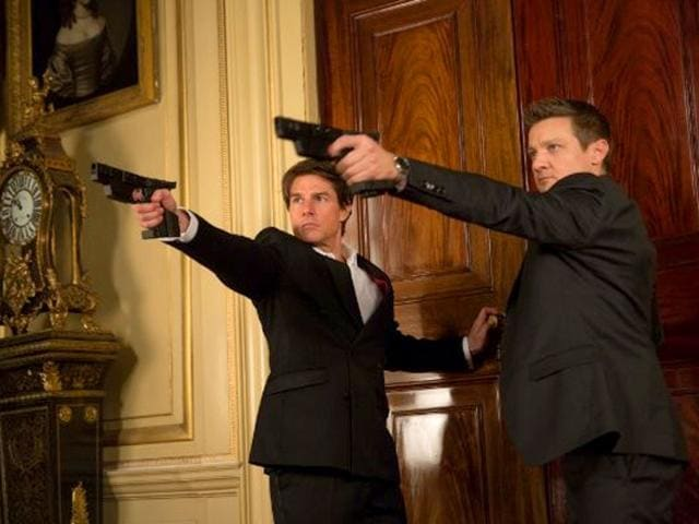 Tom-Cruise-and-Jeremy-Renner-in-are-back-as-IMF-agents-in-Mission-Impossible-Rogue-Nation-With-great-action-and-edge-of-the-seat-thrills-Mission-Impossible-5-proves-that-this-franchise-has-gathered-momentum