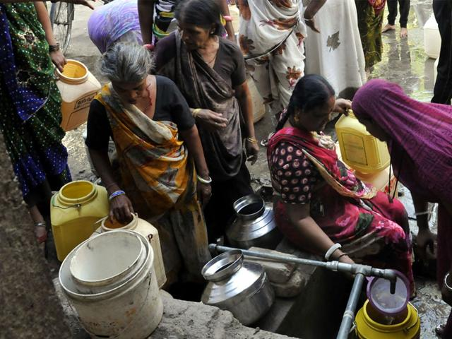 Indore-residents-are-facing-acute-shortage-of-pure-drinking-water-although-the-city-recently-received-heavy-rains-HT-file-photo