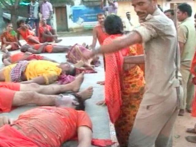 Jharkhand,Stampede,Temple