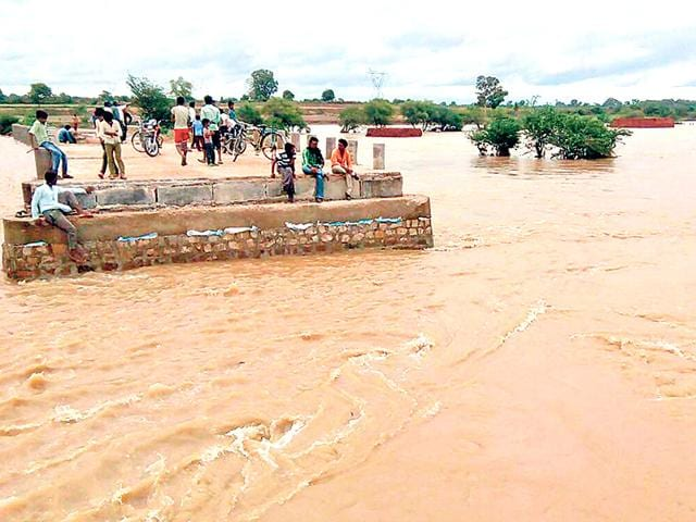 A-culvert-damaged-due-to-heavy-rainwater-inflow-in-Itawa-region-of-Kota-district-AH-Zaidi-HT-Photo