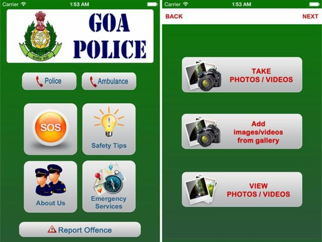 Goa Police Launch App To Report Crimes Emergencies Apps