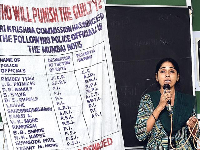 No-substantive-action-has-been-taken-against-the-culprits-identified-by-the-Srikrishna-commission-for-the-Bombay-riots-Justice-has-not-been-delivered-in-the-cases-related-to-the-2002-Gujarat-carnage-Similar-is-the-case-with-the-1984-anti-Sikh-riots-Satish-Bate-HT-File-Photo