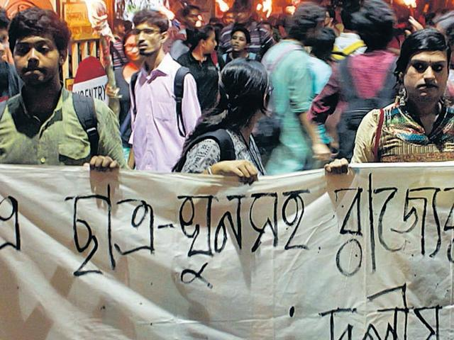 College student lynched in Sabang,Congress demands CBI probe,Jadavpur University students protest