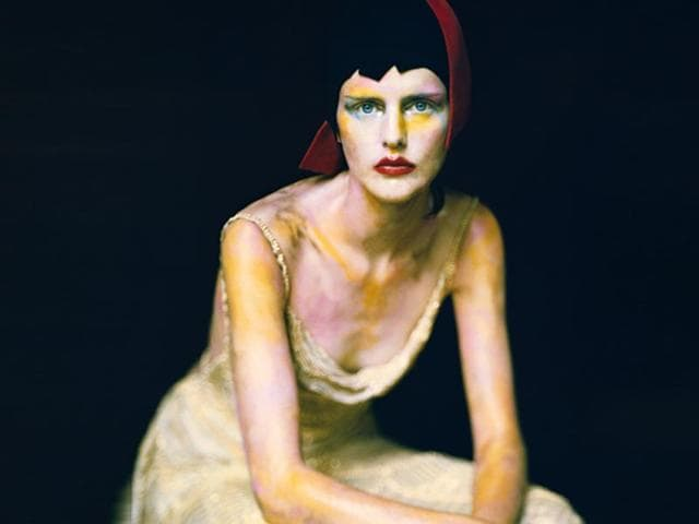 Paolo-Roversi-Stella-Paris-1999-to-be-shown-at-Vogue-like-a-painting-an-exhibition-at-the-Museo-Thyssen-Bornemisza-in-Madrid-through-October-12-features-60-fashion-photographs-from-the-Vogue-Archive-all-inspired-by-painting-AFP