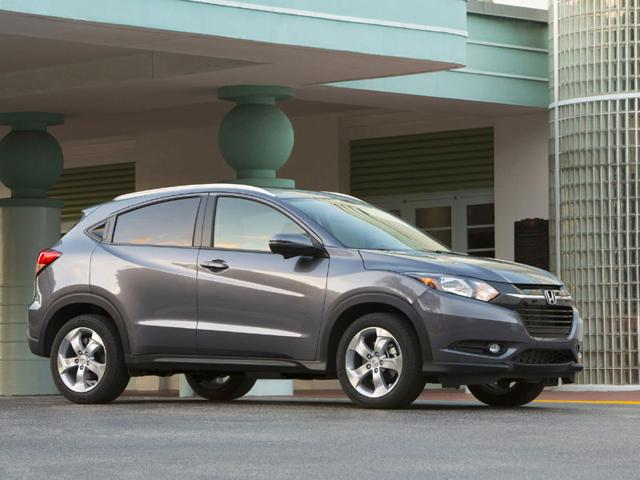 The Honda HR-V : Bigger than the Fit, the HR-V is a proper little SUV that balances style with fuel efficiency and one that offers useful features like hill assist, the option of all-wheel drive and a multi-angle review camera. Photo:AFP