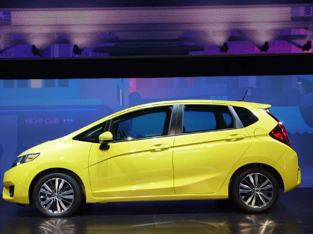 The Honda Fit : The Honda tops this year's list because of its sheer versatility, much of which is down to its clever rear seat that moves and folds to offer a huge amount of trunk space or room for rear passengers yet in a package that's smaller and more economical than a real SUV or crossover. Photo:AFP