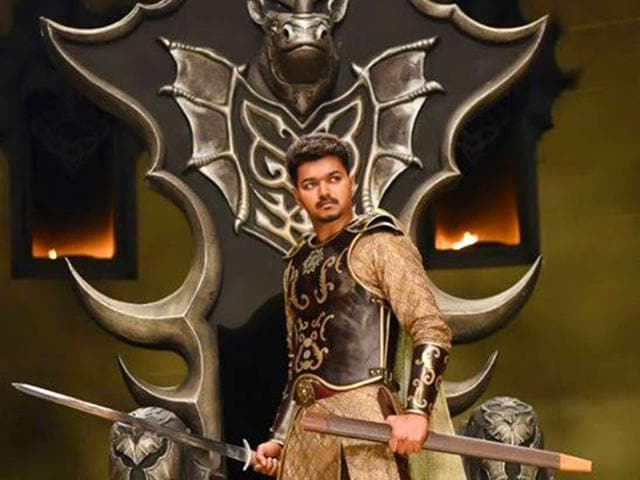 Puli song promo dsp sings to announce vijays arrival regional puli meaning tiger in tamil has been written and directed by chimbu deven and stars vijay sridevi sudeep shruti haasan and hansika motwani facebook altavistaventures Choice Image