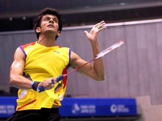 A file photo of Indian badminton player Ajay Jayaram. (Photo credit: Twitter handle @ajay_289)