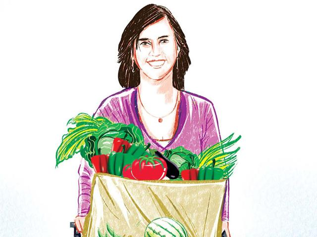 Heirloom tomatoes from Alibaug and desi eggs from Nashik. More and more services are cashing in on our desire to eat healthy, and organic, even at a premium. (Cover story illustration: Shrikrishna Patkar)