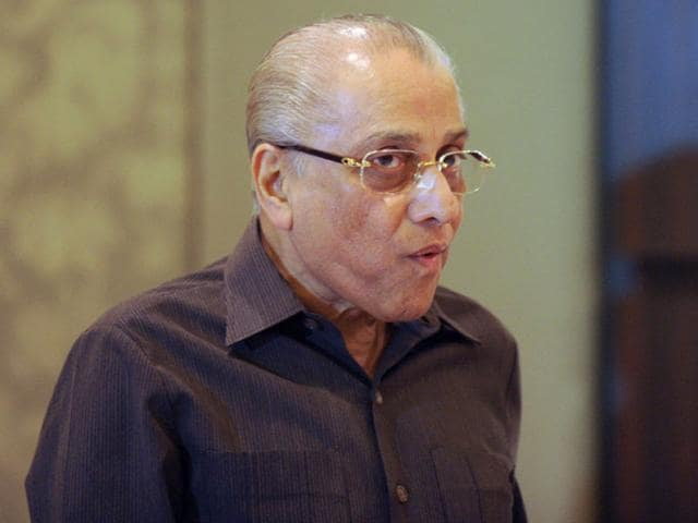 A file photo of Jagmohan Dalmiya after a press conference in New Delhi. Dalmiya passed away on September 20, 2015, at the age of 75. (AFP Photo)