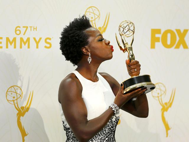 Viola Davis won the Emmy award for Outstanding Actress in a Drama Series her role in How To Get Away With Murder. (AP Photo)