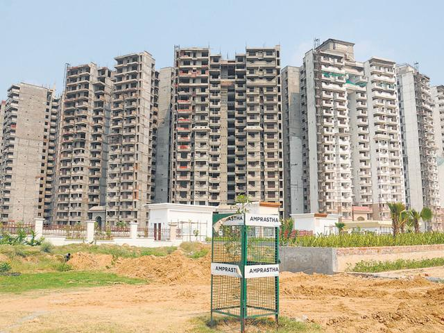 As many as 40,000 units are currently under construction near Dwarka Expressway