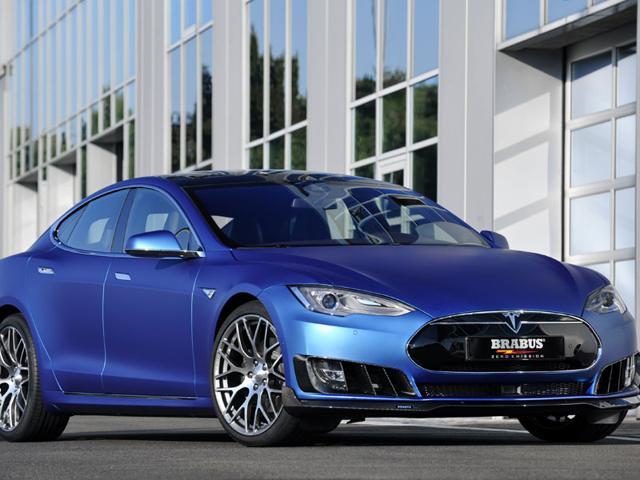 Brabus Zero Emission programme for the Tesla Model S. Photo:AFP