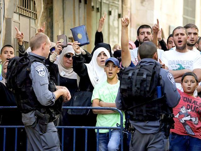 Palestine,Conflict,As-Aqsa Mosque compound