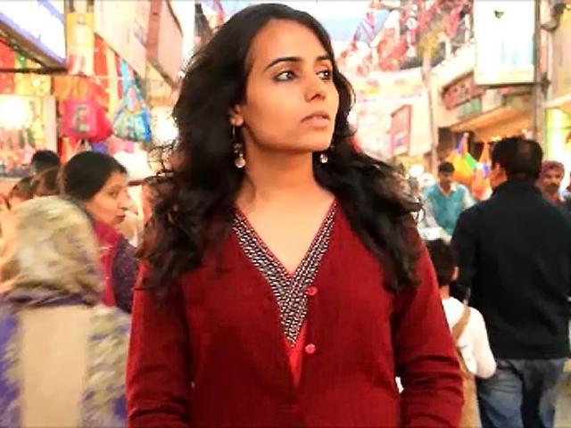 A still from the short film 'Identity' starring Patiala-born Gazal Dhaliwal.