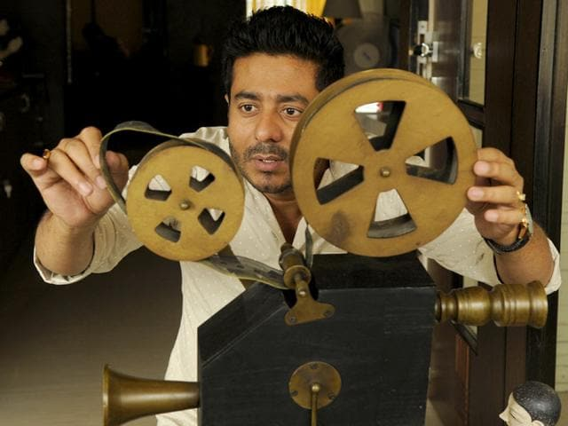 Much sought-after filmmaker Raj Chakraborty is known making romantic films and for introducing newcomers in the Bengali film industry. (Samir Jana/HT Photo)