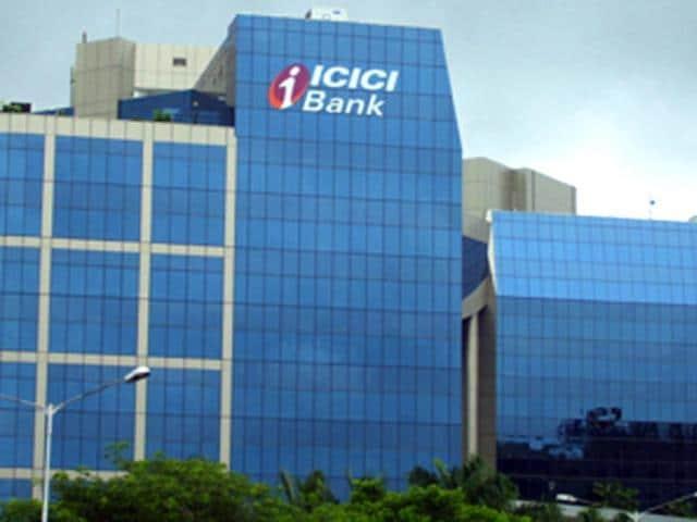 ICICI bank,Q1 net profit up by 12%,Bombay Stock Exchange