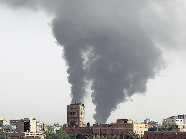 Houthis,Yemen,Saudi-led coalition