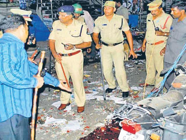 Ara civil court bomb blast,Patna High Court,Sudhir Singh