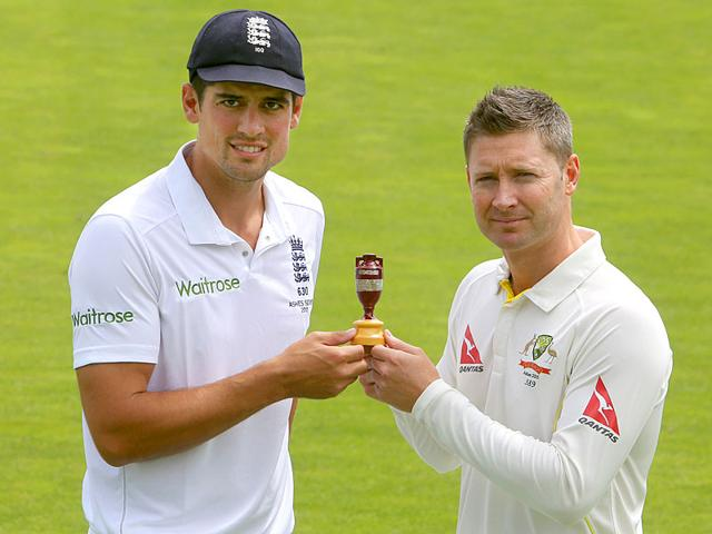 A replica of the Ashes urn. (Reuters Photo)