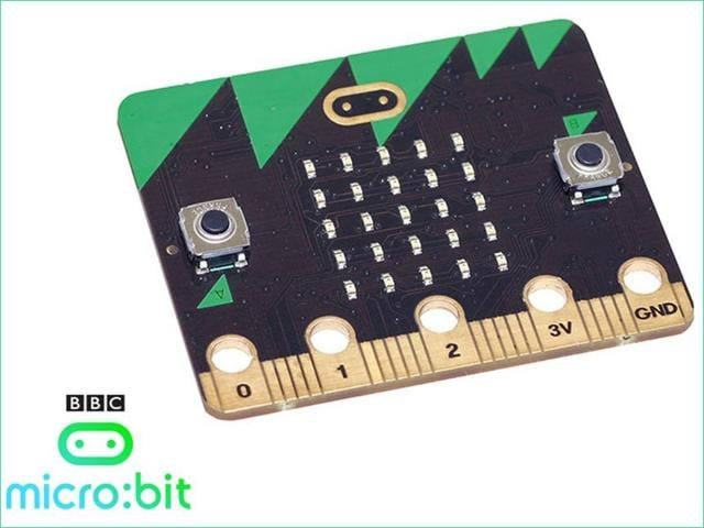 30 years after the launch of the Micro the BBC has launched the micro:bit. (Photo: BBC)
