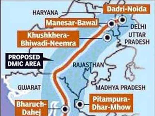 Pithampur investment node,Delhi-Mumbai Industrial Corridor,land acquisition amendment bill