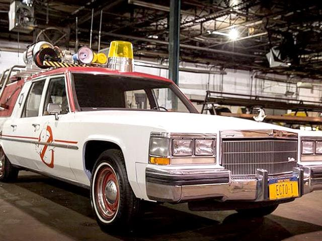 Ghostbusters director Paul Feig is on somewhat of a social media marketing spree. Here's the Ecto-1(Twitter)