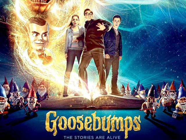 The first trailer for Goosebumps won't give you goosebumps but will entertain you. (Twitter)