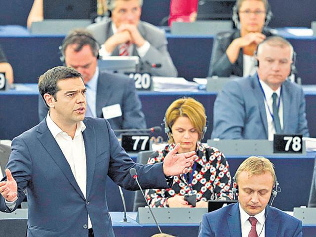 Alexis Tsipras won the backing of 251 out of 300 deputies for his reform plans, even though they are similar to the ones that Greeks rejected in the referendum after he branded them