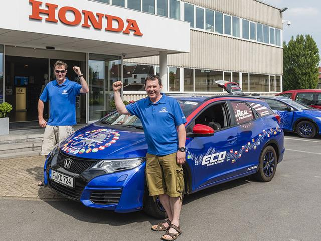 Honda has a new Guinness World Records title. Photo:AFP