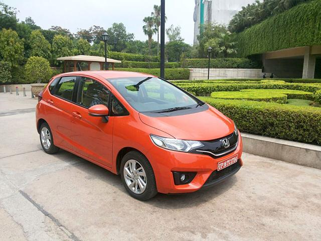 Against mighty Elite i20, Honda's new Jazz gets an aggressive price tag. (Sumant Banerji/HT Photo)
