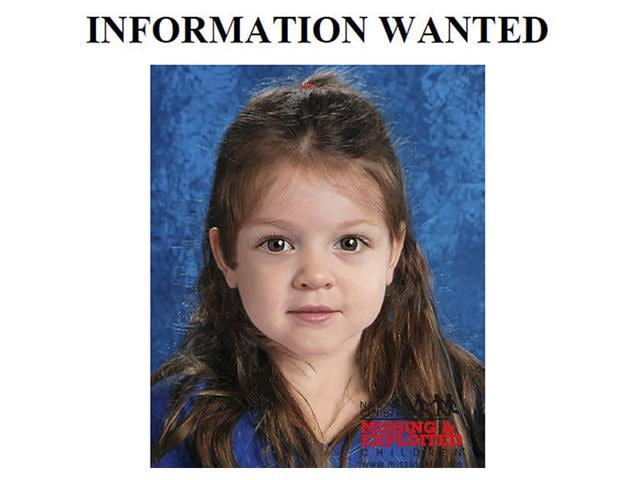 This flyer released on July 2, 2015, by the Suffolk County Massachusetts District Attorney includes a computer-generated composite image depicting the possible likeness of the young girl, whose body was found on the shore of Deer Island in Boston Harbor. Officials believe the brown-haired, brown-eyed girl was about 4 years old and are hoping the information generates clues about her identity. (AP Photo)