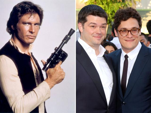 Phil Lord and Chris Miller of The Lego Movie fame will direct the next Star Wars spinoff featuring Han Solo. (Shutterstock/Twitter)
