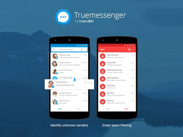 Truemessenger has launched first on the Indian Google Play store.