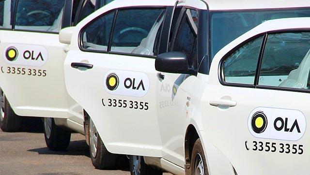 App based taxi aggregator Olacabs.