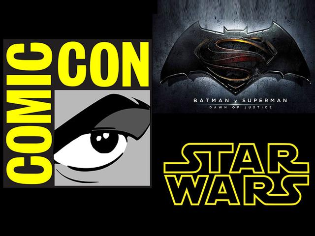 Comic Con begins: Star Wars and Batman v Superman are the big attractions. (Twitter)