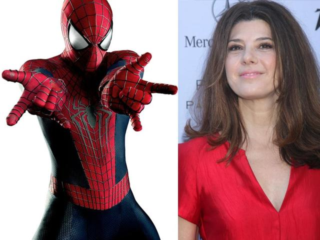 Marisa Tomei will play Aunt May in the new Spider-Man movie. (Shutterstock/Twitter)