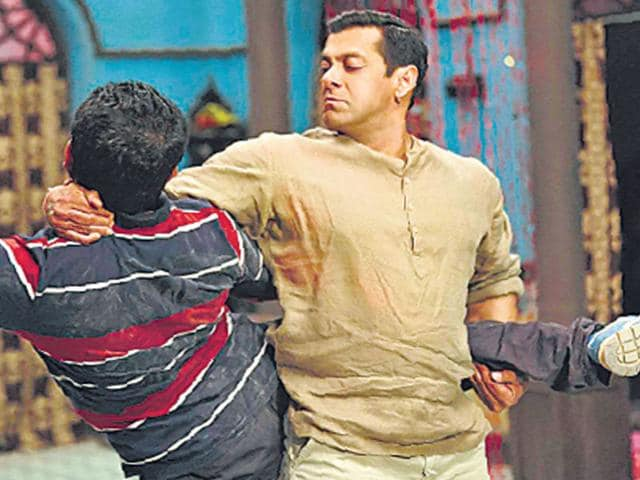 Salman Khan performs hand to hand combat for Bajrangi Bhaijaan. (FOHT Photo)