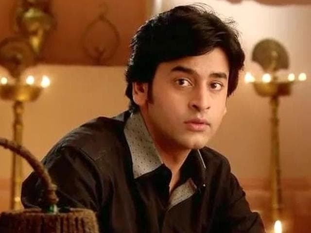 Shashank Vyas as Jagya in a still from Balika Vadhu.