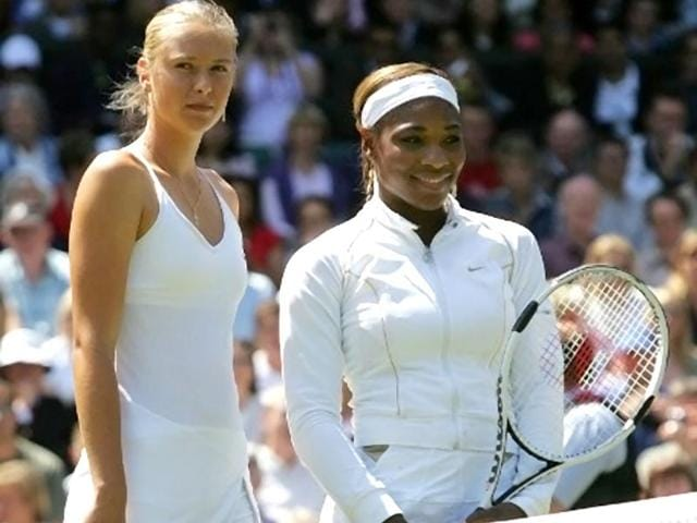 Serena Williams,Maria Sharapova,Agnieszka Radwanska